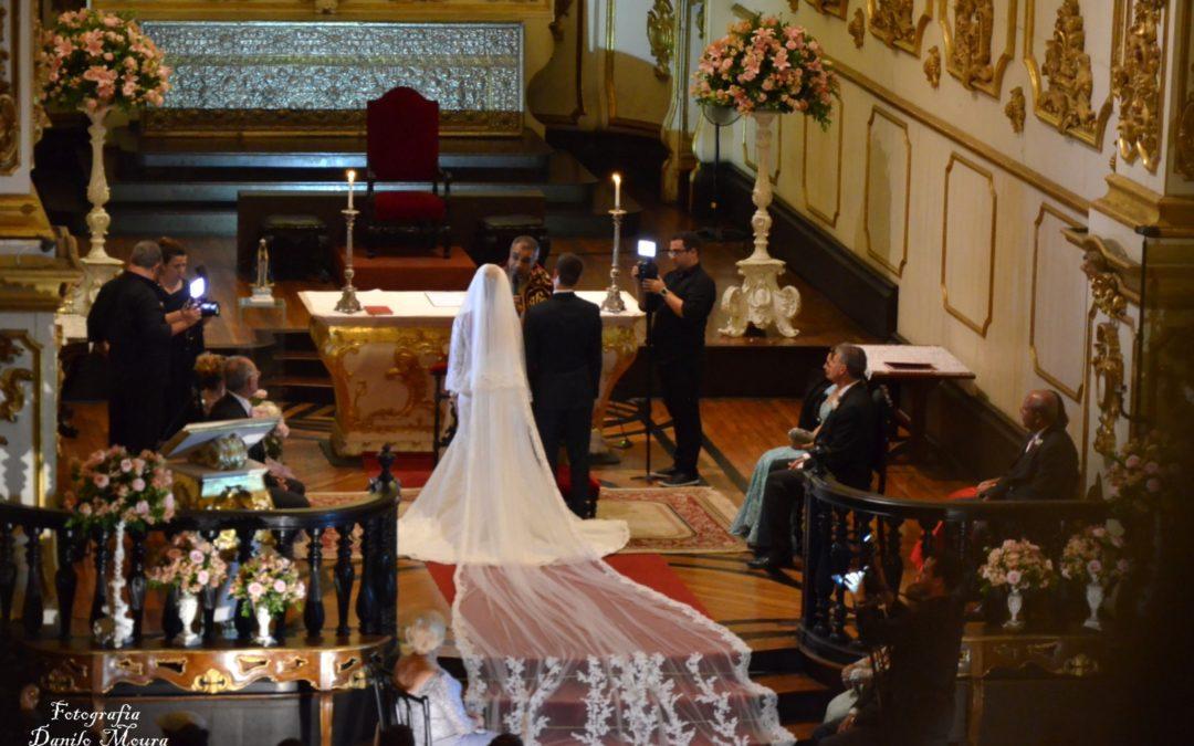 Thábatha e Luis Guilherme – Igreja Nossa Senhora do Carmo – 21.10.2017.