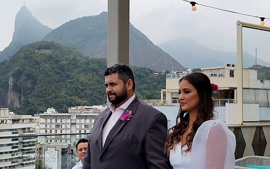 Rafaela e Diogo – 11.09.2021 (11:00 horas da manhã) – Yoo2 Rio hotel